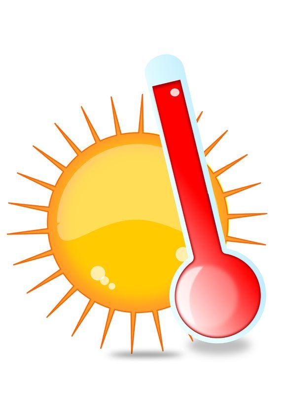 Specialistų rekomendacijos dėl karščio