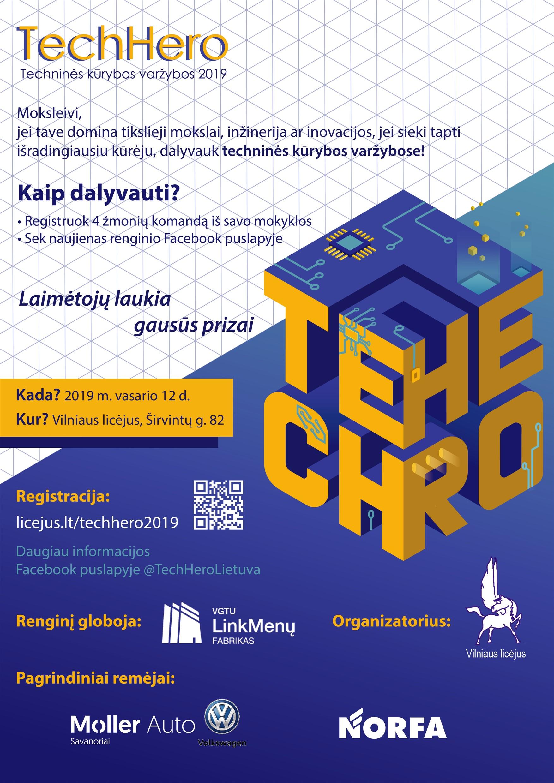 TechHero – Techninės kūrybos varžybos