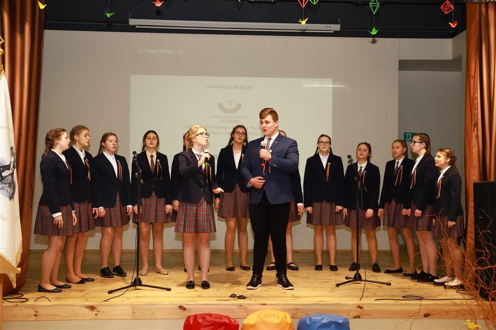 Pavasario kalbos šventė - Šalies lietuvių kalbos olimpiada - įvyko!