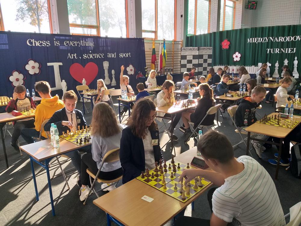 Šachmatų turnytas Koninskių Jakubicų miestelyje